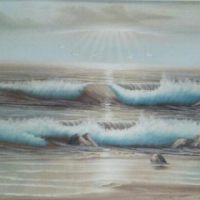a oil painting by:C.GALIA