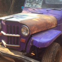 Willy's Jeep Pickup Overland 1965