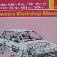 Nissan Sunny/Pulsar B12 & N13 (Petrol) - Owners Workshop Manual - Haynes 1378.