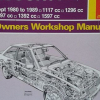 Ford Escort (Fwd) - Sept 1980 to 1989 - Owners Workshop Manual - Haynes - 686.