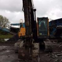 Excavators Volvo EC210 with Long Boom