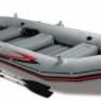 Mariner inflatable 4 man boat with motor