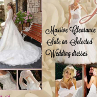 Pre loved Wedding, evening dresses and suits