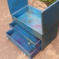 Vintage Toolbox or Fishing Box (550x340x350)