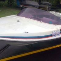 Four man fishing boat for sale with 40 HP Yamaha motor