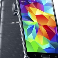 Samsung Galaxy S5 / G900F Smart Phone, 32GB,LTE (led screen damaged - needs replacement )-rest of ph