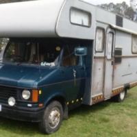 1986 Motorhome Bedford/Jurgens  Winterton KZN