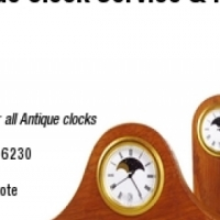 Service and repair antique and vintage clocks and gamophones.