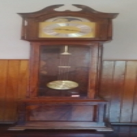 German Imbuya wood Grandfather Clock