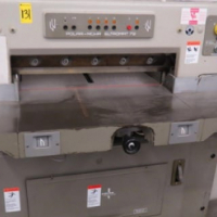 Buy Used 1981 Polar 72CE Cutter Machine