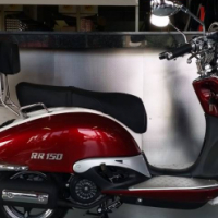 Brand New RR Harvey 150cc Scooter  HOT SUMMER SPECIAL!