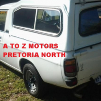 Nissan 1400 ST S/C  5 Speed with Canopy, 2007