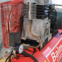 Balma air compressor Belt Drive Separate motor pump Model SB38/LT150 HP3 Single phase
