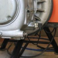Large industrial Mattei Model PU45 Air Compressor - Hydrovane