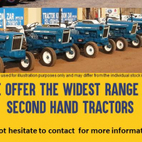 WIDE RANGE OF TRACTORS AVAILABLE AT AFFORDABLE PRICES