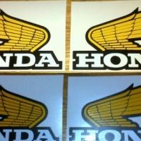Pair of honda vintage tank wings