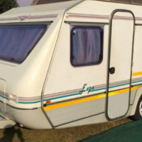 Jurgens Expo 1996 caravan