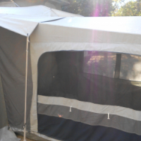 Add a Room Tent to fit Jurgens Penta / Palma and probably many other caravans. New price is R6400.00