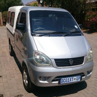 Hafei Loda 1.1L King cab bakkie with drop sides and canopy