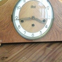 Antique Hermle flooting lever action clockwatch