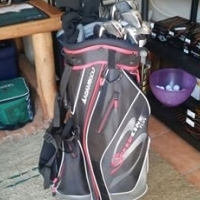 Nike covert driver, 3 wood and irons aswell as putter