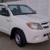 2007 Toyota Hilux 2.5 D4D Single Cab