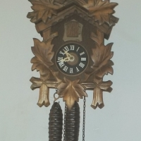 Black Forest Cuckoo Small Clock