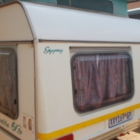 gypsey caravette 6 b with full tent and rally tent