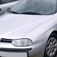Alfa Romeo 156 front bumper  for sale  contact 0764278509  whatsapp 0764278509