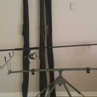 4 rods 4 reals and stand