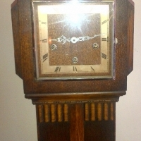 English Grandmother Clock
