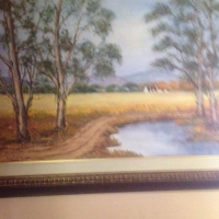 Oil Paintings.  Negotiable. Some very good Prints.