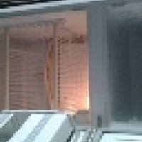 kic fridge freezer 270l