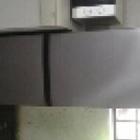 Kic silver fridge freezer l270l