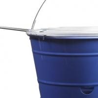 Braai in a Bucket. Lime, Blue, Red or Black.