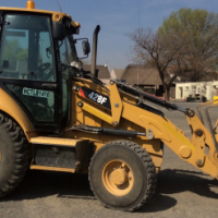 2013 CATERPILLAR 428F TLB LOW HOURS!
