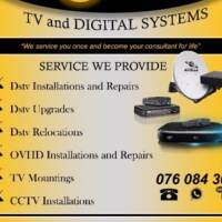 DSTV Installations & Maintenance (Greater Joburg and Pretoria Region) 0760843068