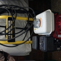 Karcher Honda engine high pressure washer