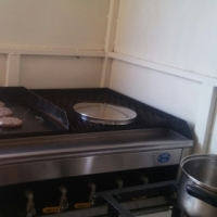 Excutive mobile kitchen Trailer