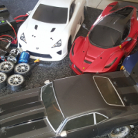 Vaterra rc chev camaro rs with loads of extras