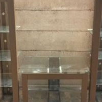 3stuk glas en pyp wall unit