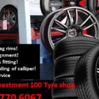 Harmonics Investment 100 Tyre shop