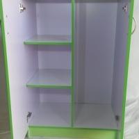 2 Door green cabinet