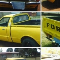 Ford Cortina 3.2lltV6 bakkie for sale