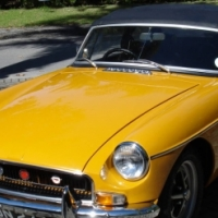 1971 MGB Roadster with overdrive. Total restoration to Concourse condition. One owner since new