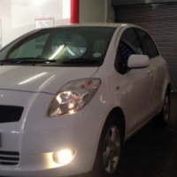 2006 Toyota Yaris 1.3 Spirit, White With 153 477Km