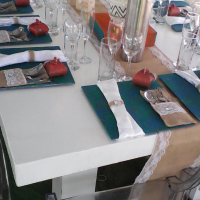 A stylish event begins long before the guests