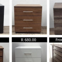 (NEW) CHEST OF DRAWS,  and other products: DIRECT FROM MANUFACTURER Bulk orders welcome: