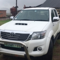 Toyota Hilux Legend 45 2015 R/B A/T P/U D/C 4X2 FOR SALE