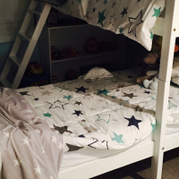 Brand New Never been slept in Double Bunk Bed with quality dinishes